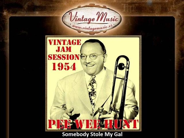 PEE WEE HUNT CD Vintage Jazz Swing Orchestra. Somebody Stole My Gal Spain ...