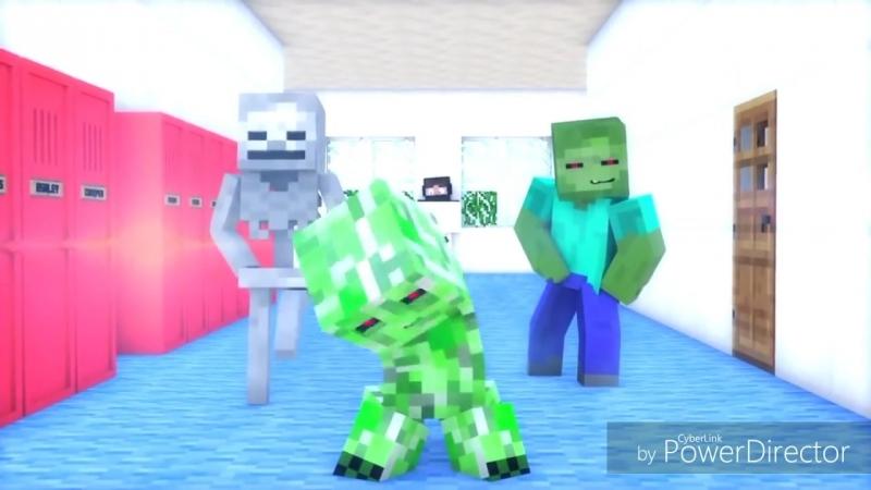 [v-s.mobi]НЯША КРИПЕР - Майнкрафт Клип Minecraft Parody Song of PSY's Daddy.mp4