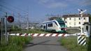 Spoorwegovergang Santhià (I) Railroad crossing Passaggio a livello