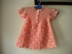 Красивое платье крючком (3 фото) - картинка