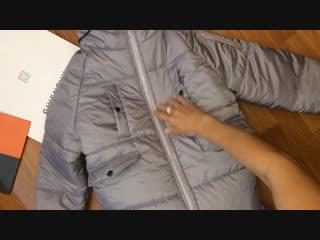 Видеообзоры ваших заказиков: синтепоновое пальто с капюшоном, зима ❄️ . Будьте стильными с anechkadonetskfashiongroup💐