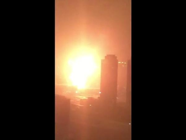 Взрыв на военной базе в США