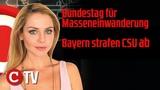 Bayern strafen CSU ab, Bundestag f