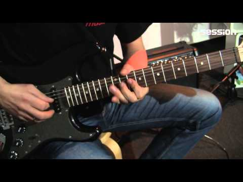 Squier By Fender Affinity Fat Stratocaster RW MBM - SESSION SET -