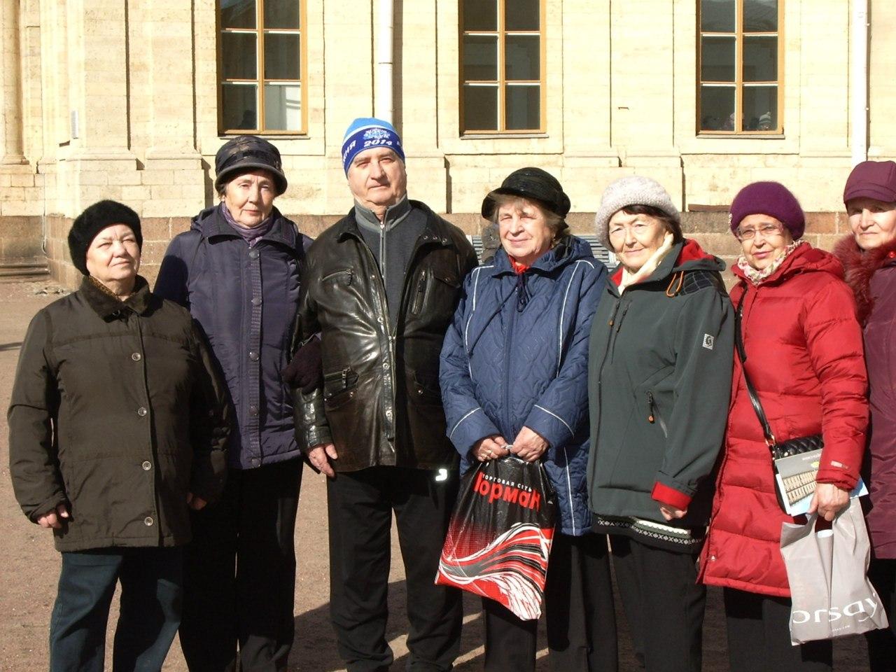 Группа «ВОЗРОЖДЕНИЕ». Выезд в г. Гатчина. 28 марта 2014 года