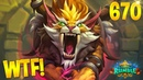 HEARTHSTONE Best Daily FUNNY and WTF Moments 670!