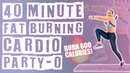40 Minute Fat Burning Cardio Party O Workout No Equipment Needed 🔥Burn 600 Calories 🔥