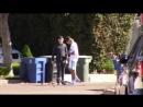 Video of Justin skateboarding in Los Angeles California October 15