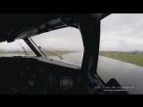 Полет с приборной доски самолета).mp4