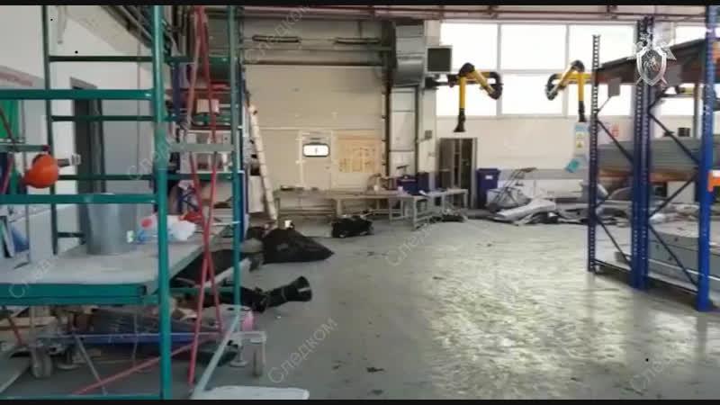 Обрушение крыши в Дзержинске