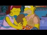 [Cartoon PorTal] Симпсоны-Лучшие моменты #Барт и Грудь#