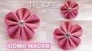 Flores🌷🌷 en Foami FÁCIL y Económicas Aprende cómo hacerlas? How to make flower?💐😊