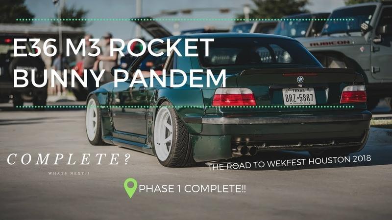 E36 M3 Widebody Build - Rocket Bunny - Pandem - Finished??