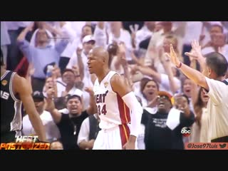 Ray allen miracle shot vs spurs