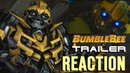 Bumblebee Reacts to Bumblebee The Movie Trailer (SFM Transformers Animation)
