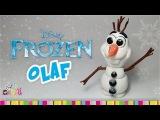 Забавный снеговик из FROZEN - Мастер класс