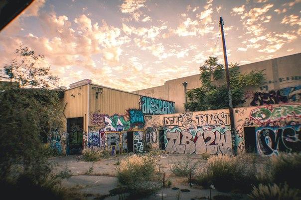 Заброшенные места в Восточном Лос-Анджелесе