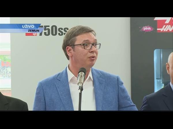 Predsjednik Srbije izjavio kako navija za Rusiju