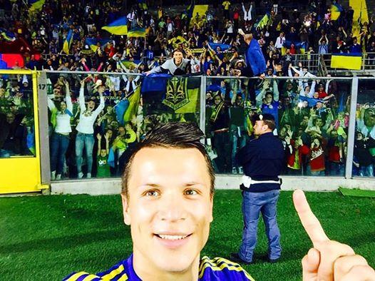 Сборная Украины по футболу в товарищеском матче обыграла албанцев - Цензор.НЕТ 6661