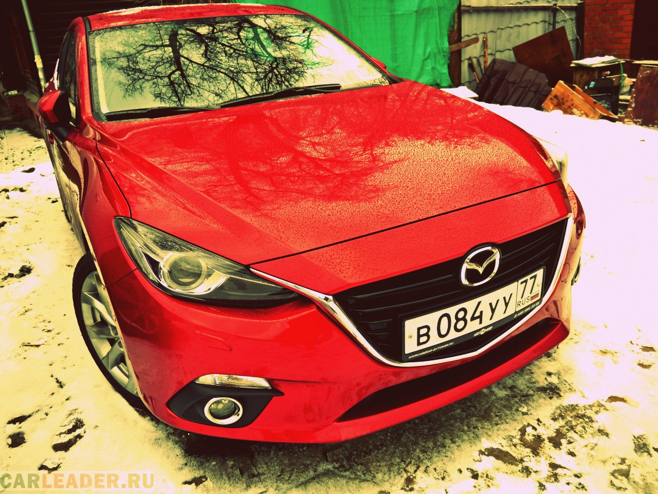 Тест Mazda3 2014 хэтч!