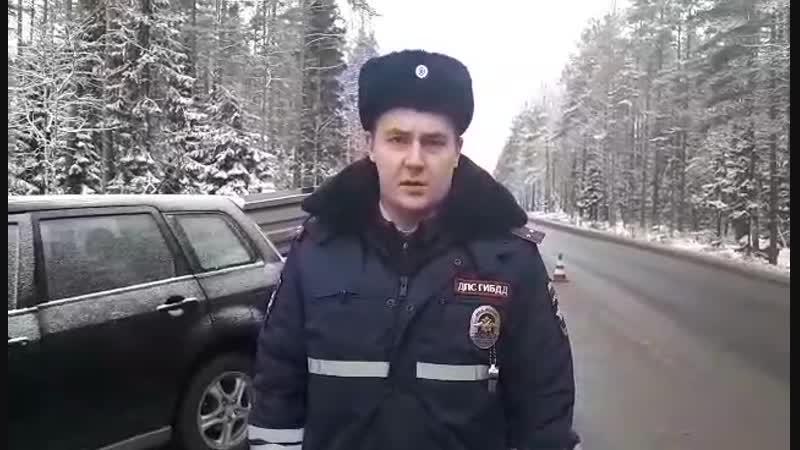47-Приозерск- Видео с места ДТП на автодороге Ушково-Гравийное