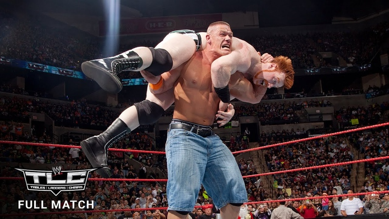 FULL MATCH - John Cena vs. Sheamus - WWE Championship Tables Match WWE TLC 2009 (WWE Network)