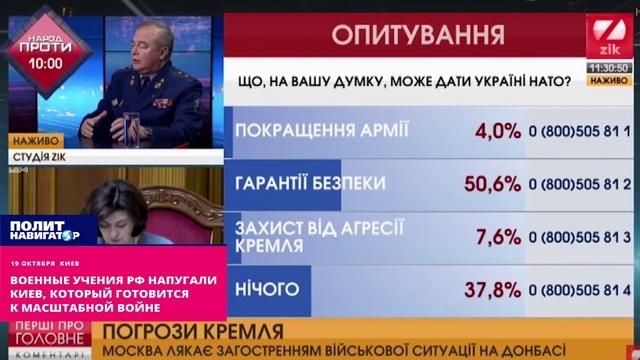 Военные учения РФ напугали Киев, который готовится к масштабной войне