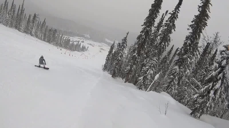 GoPro hero 6 weekend snowboarding Siberia🏂🐒