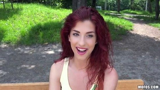 PublicPickUps – Shona River – Curly-Haired Euro Babe Begs for It