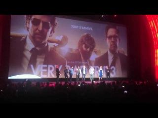 Casting of The Hangover Part III with Bradley Cooper @GrandRex Paris - My Warner Day