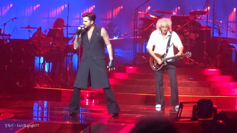 Q ueen Adam Lambert - A nother One B ites The Dust - P ark Theater - Las Vegas - 9.8.19