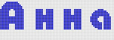 Схема плетения фенечки с именем аня
