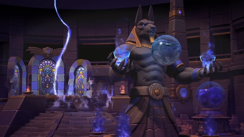 Heroes of the Storm Tomb of the Spider Queen