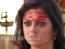 Drashti gets stabbed on location cam 1