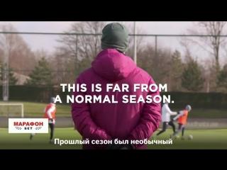 Шикарный трейлер к сериалу о чемпионском сезоне «Ман Сити»