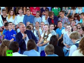 Путин рассказал, как кремлёвские повара перепутали морские и куриные гребешки