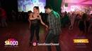 Nikos Mountrichas and Efi Lampiri Cha cha cha Dancing at El Sol Warsaw Salsa Festival Mon 12 11 18