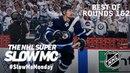 НХЛ. Лучшие моменты 1 и 2 раунов плей-офф 2017/18 в слоу-мо