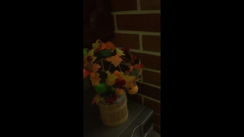 Поделка на тему «Осень» в детский садик