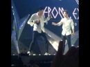 [Fancam day2] 140914 EXO D.O. hit on Chanyeol's head so cute @ The Lost Planet Concert in Bangkok