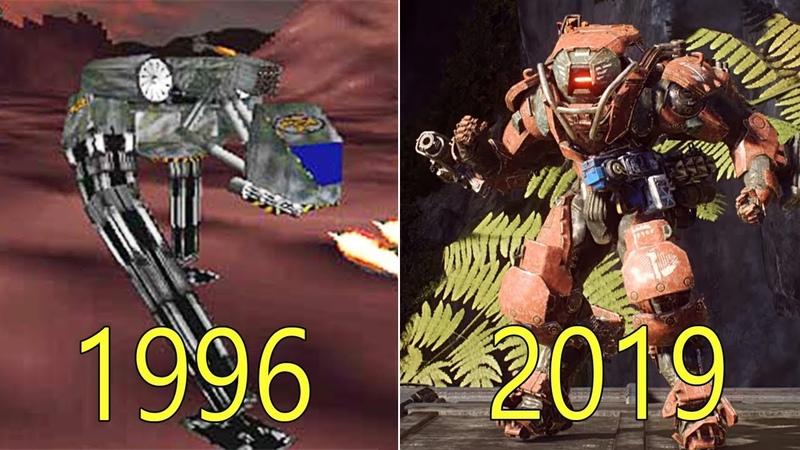 Evolution of BioWare Games 1996-2019