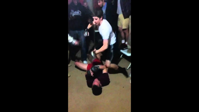 My Man Ben UFC Style Drops This Faggot!