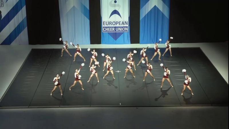 Cheerleading . Senior Pom Austria Pom.