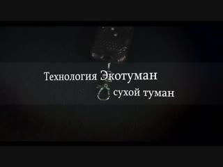 ЭкоТуман. Сухой туман. Клоп-хлоп. Екатеринбург.