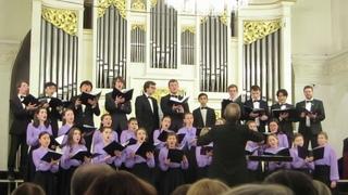 Молодёжный хор Возрождение Автор и дирижёр С.И. Смирнов