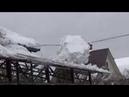 У нас Снежная катастрофа Сошли лавины!Боремся с последствиями!