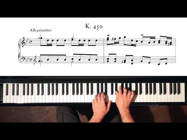 Scarlatti Sonata in G minor K.450 - P. Barton, FEURICH piano