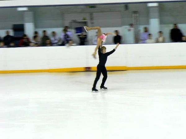 Kamilla Gainetdinova - Ivan Bich, Short Program 2011-2012