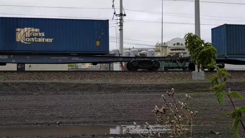 [Кузен Влог] На грузовых поездах до Владивостока/Природа Сибири/Дорога из Тюмени-Омск-Барабинск
