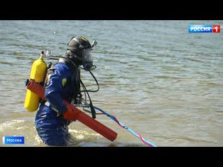 Подготовка к лету: на московских водоемах началась подводная охота за мусором